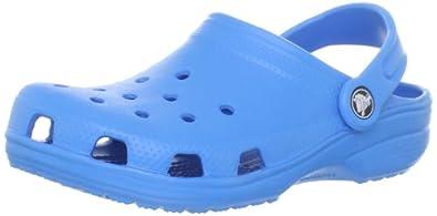 crocs Kids Classic 10006-456-024 Unisex-Kinder Clogs & Pantoletten, Blau (Ocean), EU 19-21 (UKC4-5)
