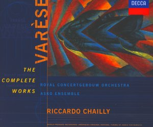 Edgar Varèse, The Complete Works