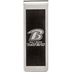 Baltimore Ravens Logo Stainless Steel Money Clip at Amazon.com