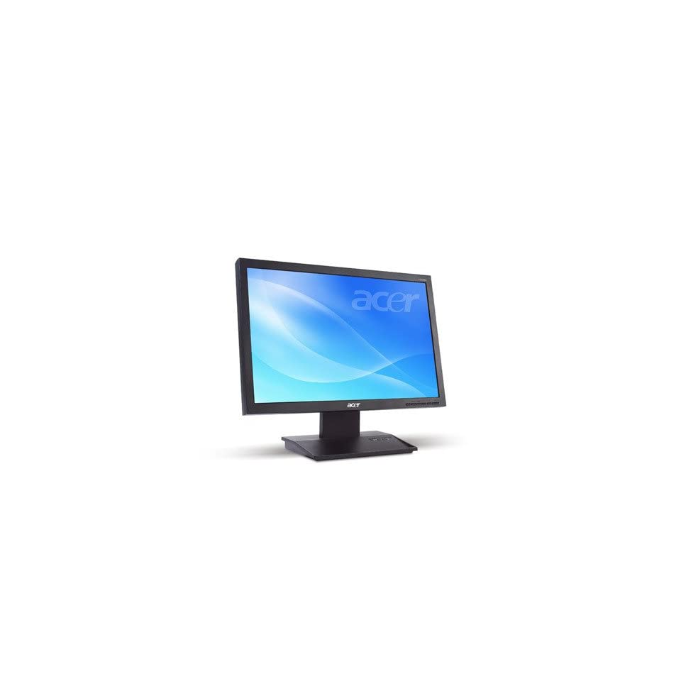 ACER 20 wide screen TFT LCD MONITOR   1680 x 1050
