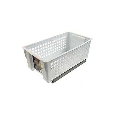 Rubbermaid FG5577RD Slide N Stack Basket, 11-Inch