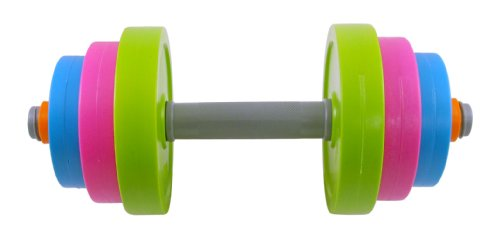 Adjustable Dumbbell Toy Set for Kids - Fill with Beach Sand or Water!