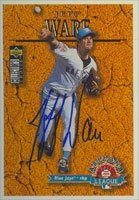 Buy Jeff Ware Tempe Rafters - Blue Jays Affiliate 1996 Upper Deck Collector's Choice Autographed Hand... by Hall of Fame Memorabilia