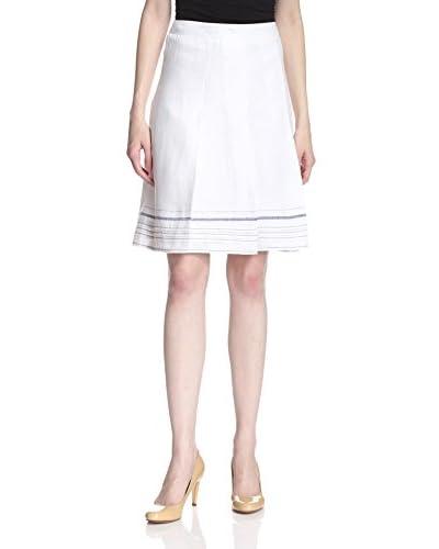 NIC+ZOE Women's Striped Hem Skirt