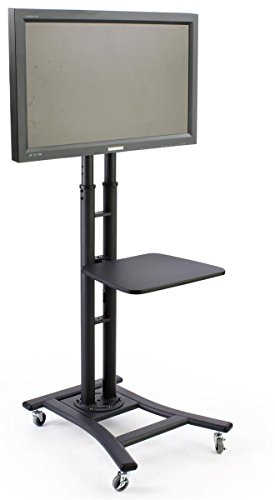 Mobile TV Stand For 37 To 70 Inch Flat Screen Monitor