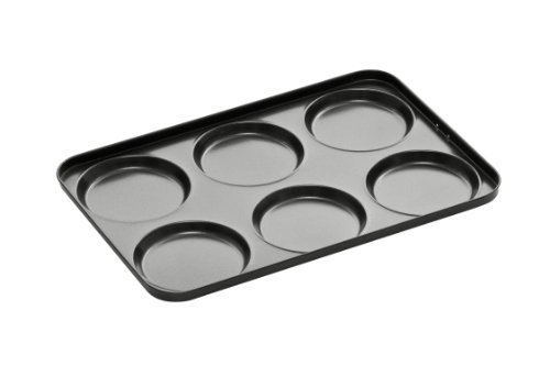 Premier Housewares 0.4 mm 6-Cup Non-Stick Yorkshire Pudding Tray, 35 x 23.5 x 1.5 cm Height