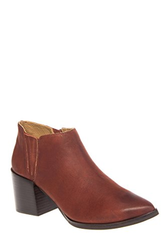 Victory Mid Heel Pointed Toe Bootie
