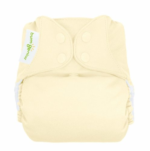Bumgenius Freetime All-In-One One-Size Snap Closure Cloth Diaper - Noodle front-767135