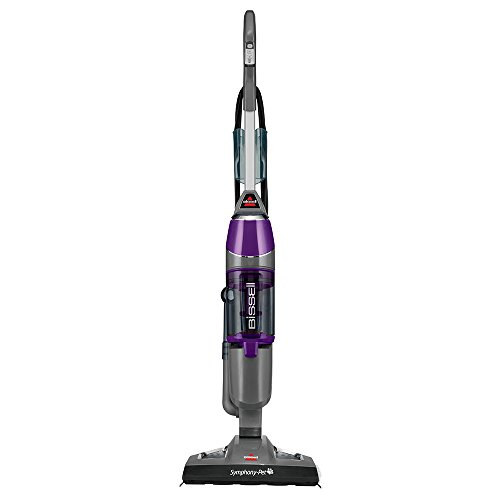 BISSELL Symphony Pet All-in-One Vacuum and Steam Mop, 1543A (Hard Floor Mop Vaccum compare prices)