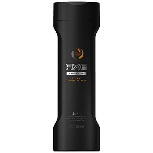 AXE Dark Temptation 2 in 1 Shampoo and Conditioner, Dark Temptation 12 oz, Pack of 2 (Pack of 2) (Shampoo And Conditioner Axe compare prices)
