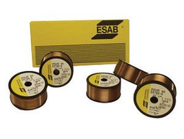 Esab Welding 537-2112F27 120 Low Alloy Steel MIG Welding Wire (Esab Wire compare prices)
