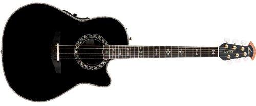 Ovation Adamas 1769-Adiiacoustic-Electric Guitar, Black