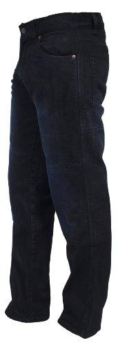 Juicy-Trendz-Classico-Uomo-Motociclo-Denim-Jeans-Pantaloni-Con-Protezione-Fodera-In