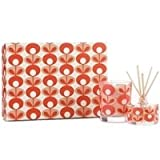 Orla Kiely Gifts Geranium and Myrrh Mini Candle and Diffuser Set