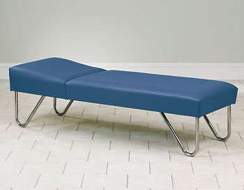 "Clinton Chrome Leg Recovery Couch 27"" wide Item# 3600-27"