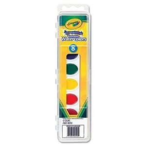 Crayola peinture l 39 eau lavable 8 couleurs paquet 3 for Peinture lavable cuisine