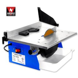 Pro-Grade 7″ Bench Top Wet Tile Saw – 1/2 HP 3600 RPM