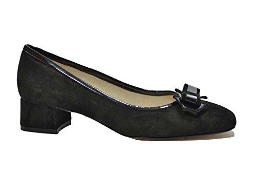 Melluso Decoltè ballerine nero scarpe donna N205 37