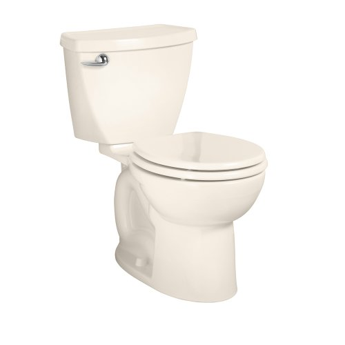 American Standard 2384.010.222 Cadet-3 Round Front Two-Piece Toilet with 10-Inch Rough-In, Linen photo
