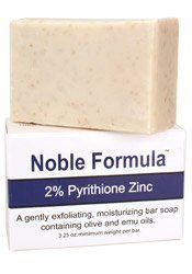 Noble Formula 2% Pyrithione Zinc Bar Soap