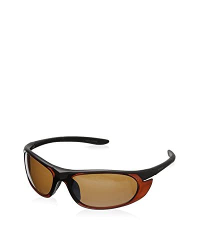 Columbia Men's Sports Sunglasses, Dark Gray/Brown