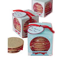 Martha Stewart Crafts Holiday Snow Globe Treat Box