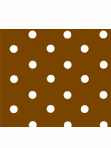 Pergamano Parchment Paper, Brown Dots, 25 Sheets