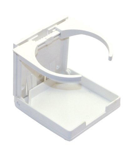 Shoreline Marine Drink Holder Fold Up White (Boat Cup Holder compare prices)