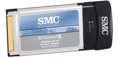 SMC EZ Connect g SMCWCBT-G Adaptateur réseau CardBus 802.11b, 802.11g