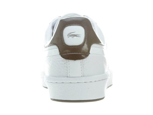 2103c57f3 pictures of Lacoste Mens Bryont FL PAT SPM Leat Synt WhiRed  Fashion-Sneakres US