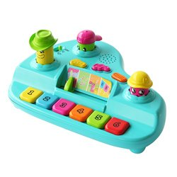 Multicolor Plastic Kidz Delight Big Band Singers Batteries Included (Kidz Delight Big Band Singers compare prices)