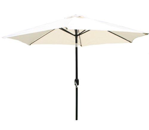 bentley-garden-27m-metal-garden-patio-umbrella-parasol-with-crank-and-38mm-tilt-pole-cream