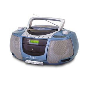 Coby MP-CD450 Portable MP3/CD Player with AM/FM Tuner and Cassette Deck