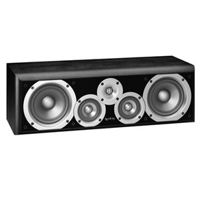 Infinity Primus Pc351 Three-Way Dual 5-1/4-Inch Speaker (Each, Center-Channel, Black)