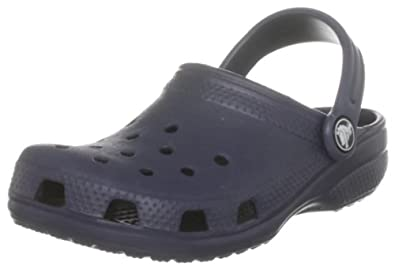Crocs Cayman/Classic Clog ,Navy,US C4/5 Infant
