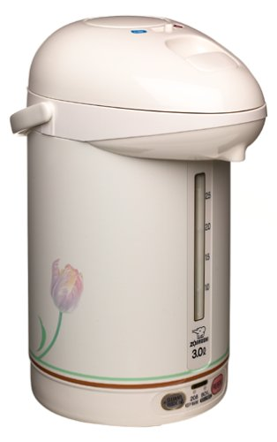 Lowest Price! Zojirushi Micom 3.0-Liter Electric Airpot Water Boiler, White