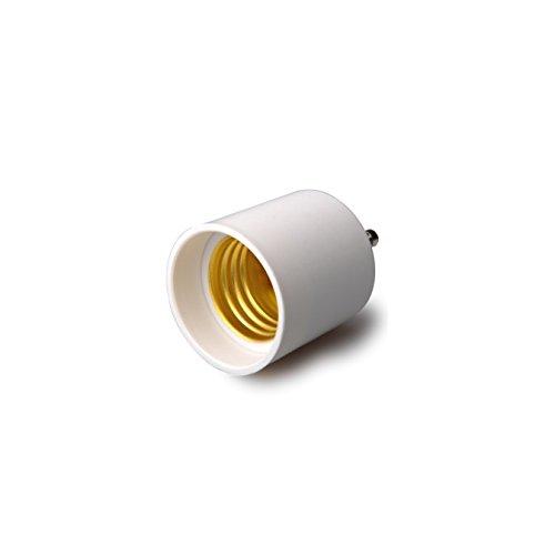 Shangge Ce&Rohs Certification 5 Pcs Gu24 To E27 Led Bulb Base Converter Halogen Cfl Light Lamp Adapter Socket Change Pbt