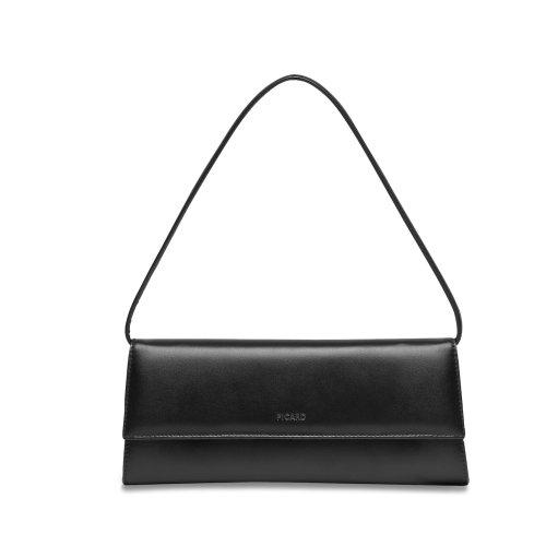 Picard-Auguri-4022-elegante-Nappa-Leder-Clutch-Abendtasche-klassisch-schwarz-26x11x3-cm-B-x-H-x-T