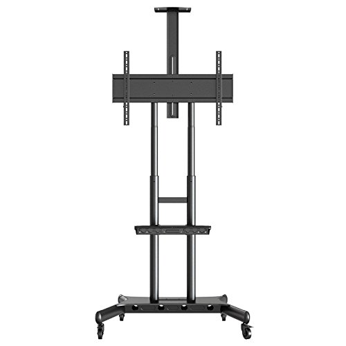 Mount Factory Rolling TV Stand Mobile TV Cart For 40 90