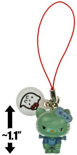 "Hello Kitty Frankenstein ~1.1"" Monster Collection Mini-Figure Dangler Series - 1"