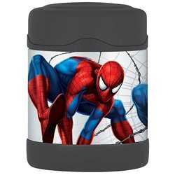 Thermos Spiderman Funtainer Food Jar - 10 Oz. front-526674