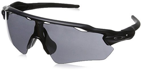 Oakley, Occhiali da sole Radar EV, Nero (Matte Black/Black Iridium), Taglia unica