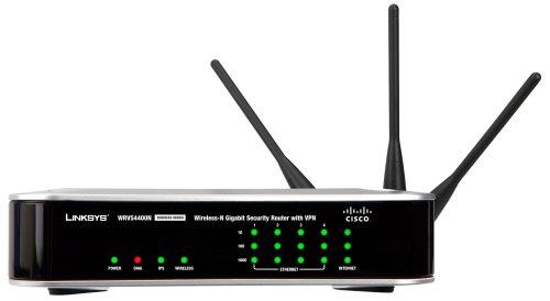 Linksys Wrvs4400n Wireless N Gigabit Security Router Vpn
