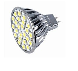 Led Smd Bulb Mr16 Bipin G5.3 Gx5.3 Base 120V Warm White 2700K