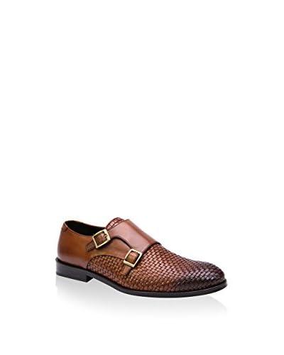 Reprise Zapatos Monkstrap Tabaco