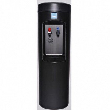 Clover B7B Room Temp and Cold Bottleless Water Cooler with Install kit and filter, Black