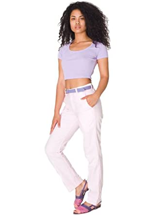American Apparel Unisex Oxford Welt Pocket Pant - Oxford Pink / 25