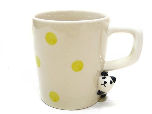 Concombre Dot Mug - Panda