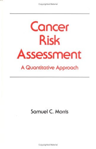 Image for Cancer Risk Assessment (Occupational Safety and Health)