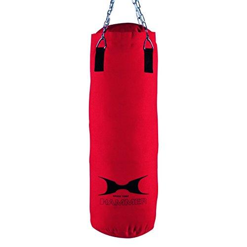 Hammer 92007 Sacchi di Sabbia e Punchball, Rosso, 80Cm